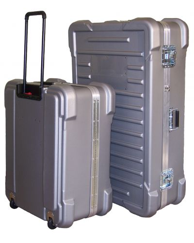 919 Wheeled Shipping Cases Molded Hard Case Custom Foam